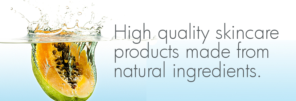 High quality skincare products made from natural ingredients