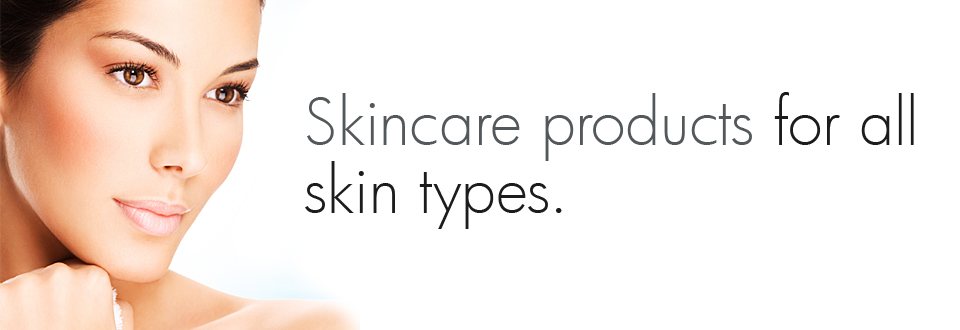 Skincare products for all skin types